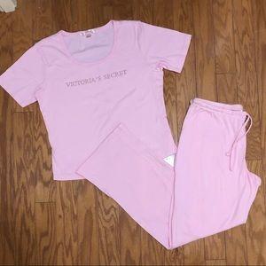 Victoria's Secret T-shirt & Lounge Pant Sleep Set